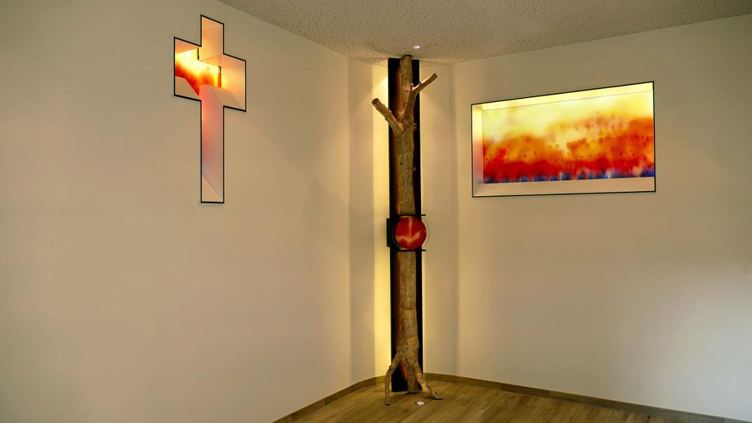 Sylvie Lander-peinture-vitrail-couleurs-abbaye-baumgarten- #SylvieLander