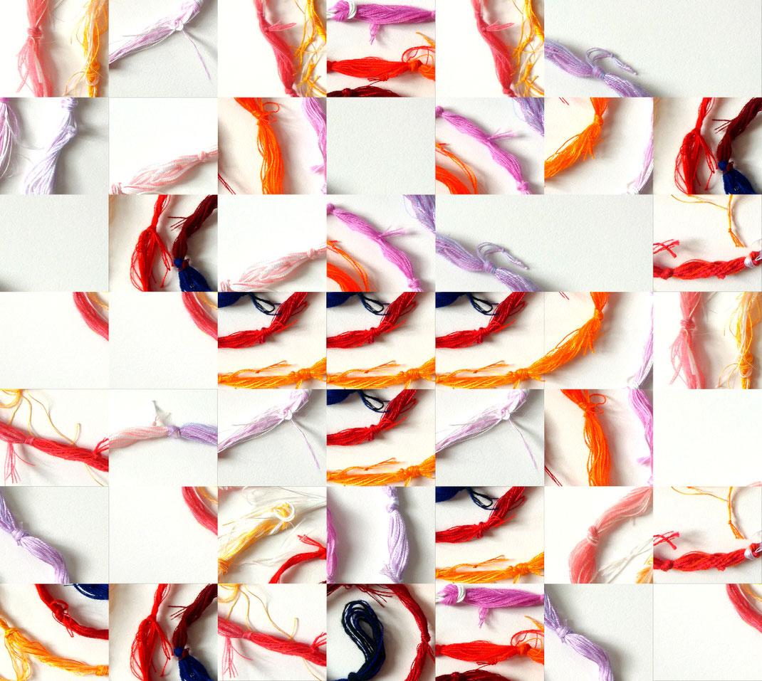 Sylvie Lander-lumiere-couleurs-tissage-fils-lumiere #sylvieLander