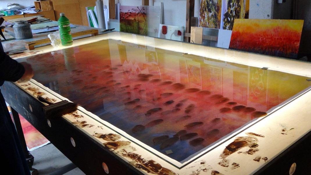 Sylvie Lander-vitraux-couleurs-atelier-Peters Glassmalerei-Paderborn-2018