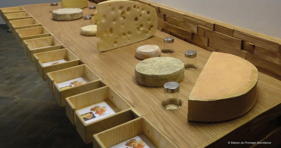 Cheese House in Abondance, Käsehaus in Abondance, Käseherstellung in Hochsavoyen
