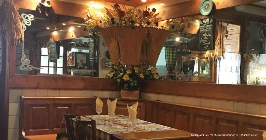 Gaststube in Abondance, Restaurant in Abondance, Abondance Restaurant