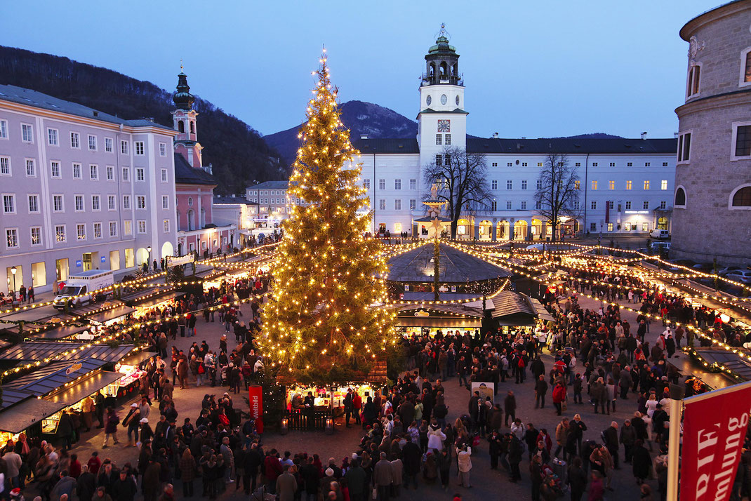 Salzburger Christkindlmarkt am Residenzplatz - (c) www.christkindlmarkt.co.at,Salzburg