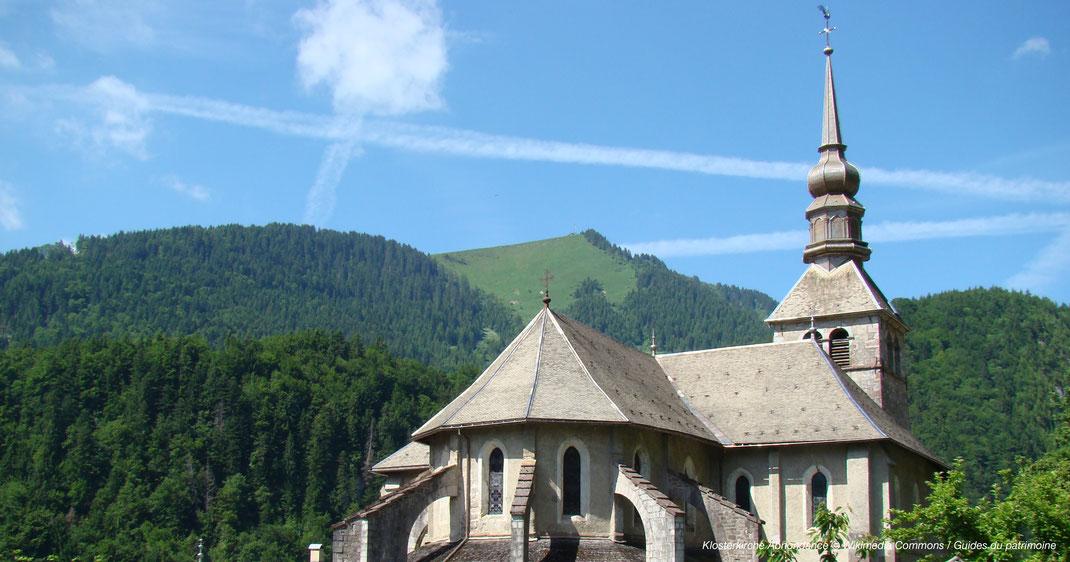 Kloster in Hochsavoyen, Abbey in Haute Savoie, Church in Haute Savoie, Kirche in Hochsavoyen