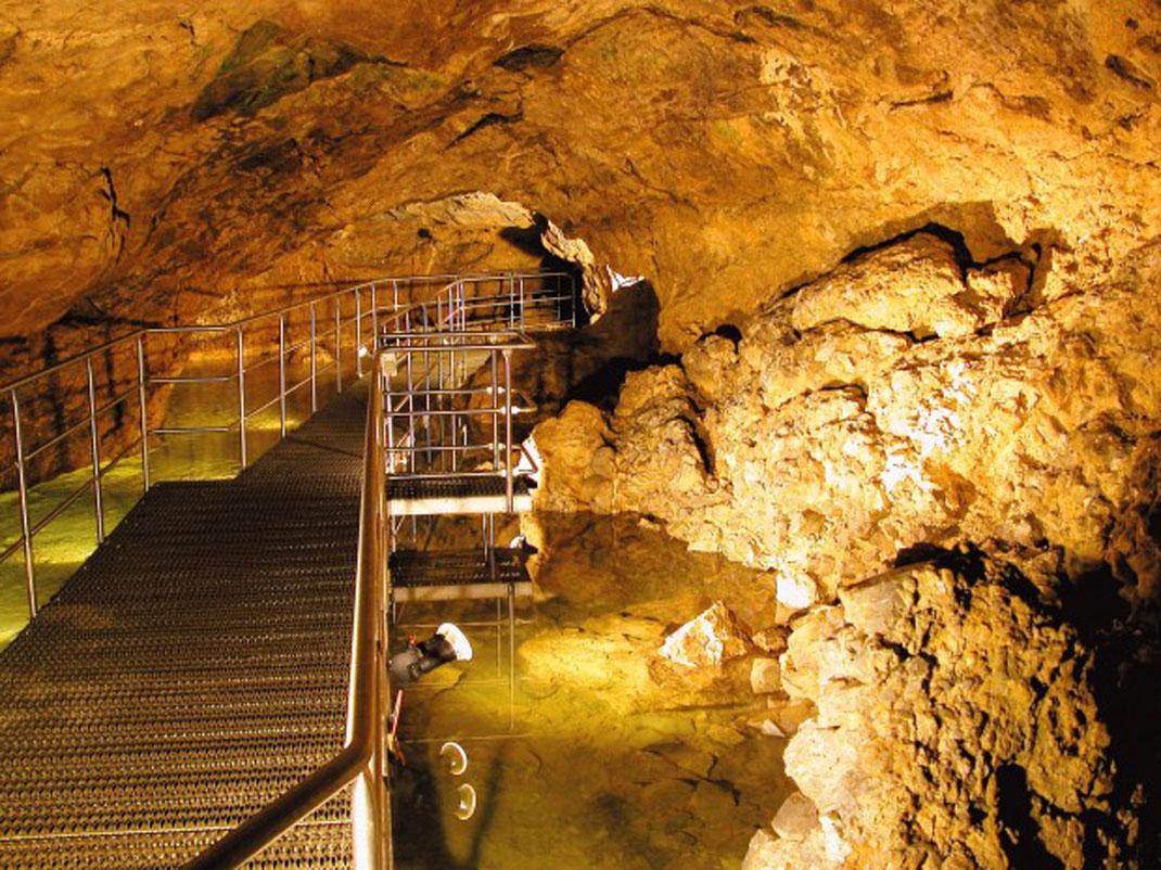Kristallhöhle Kobelwald - (c) Kristallhöhle Kobelwald