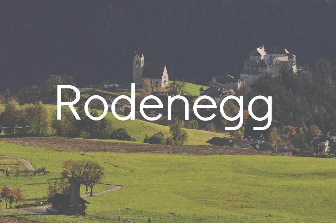 Rodenegg Burgenstraße Pustertal Südtirol