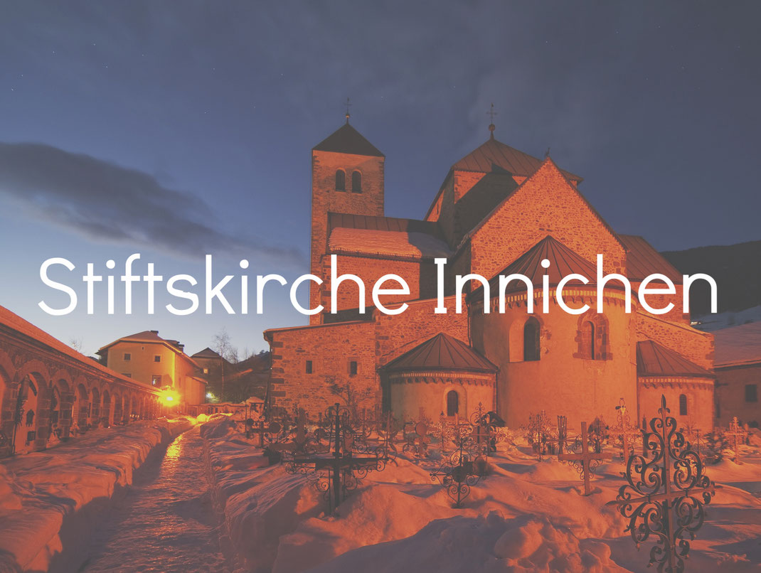 Stiftskirche Innichen Burgenstraße Pustertal Südtirol