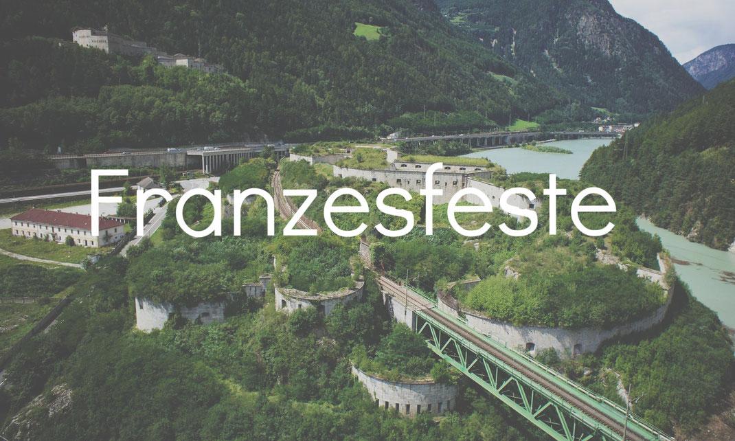 Franzensfeste Burgenstraße Pustertal Südtirol