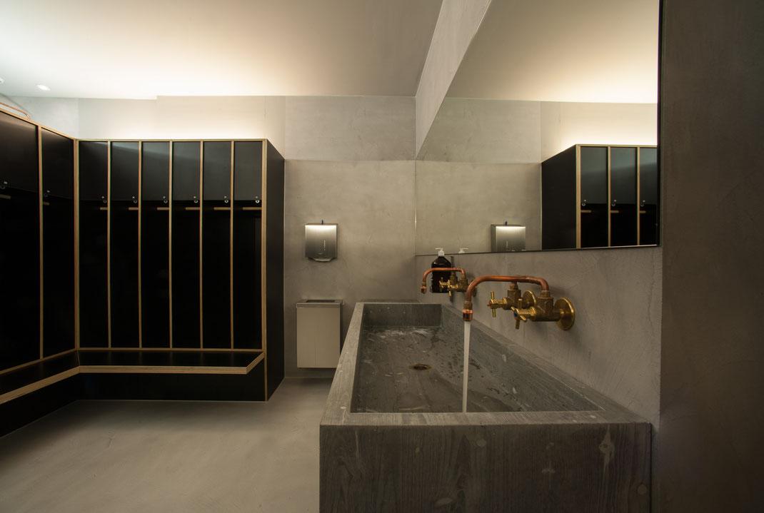 Waschbecken aus Beton Beton Waschtisch