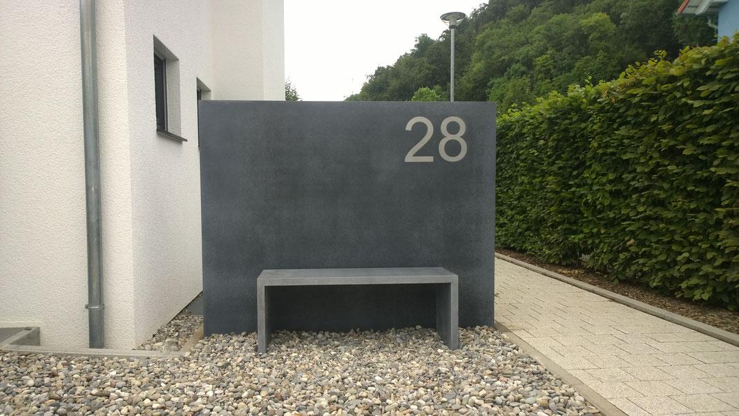Outdoor m bel aus beton nonnast raum beton design for Outdoor kuchen aus beton