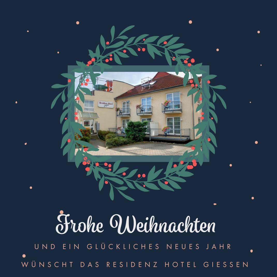 Frohe Weihnachten und ein glückliches neues Jahr! - Hotel Gießen