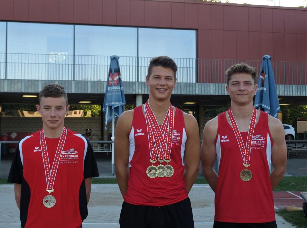 SM Medaillen unserer Athleten