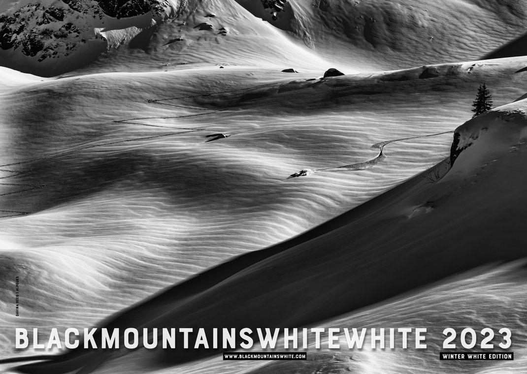 Blackmountainswhite Kalender 2021 - 13 schwarzweiss Bilder aus den Bergen