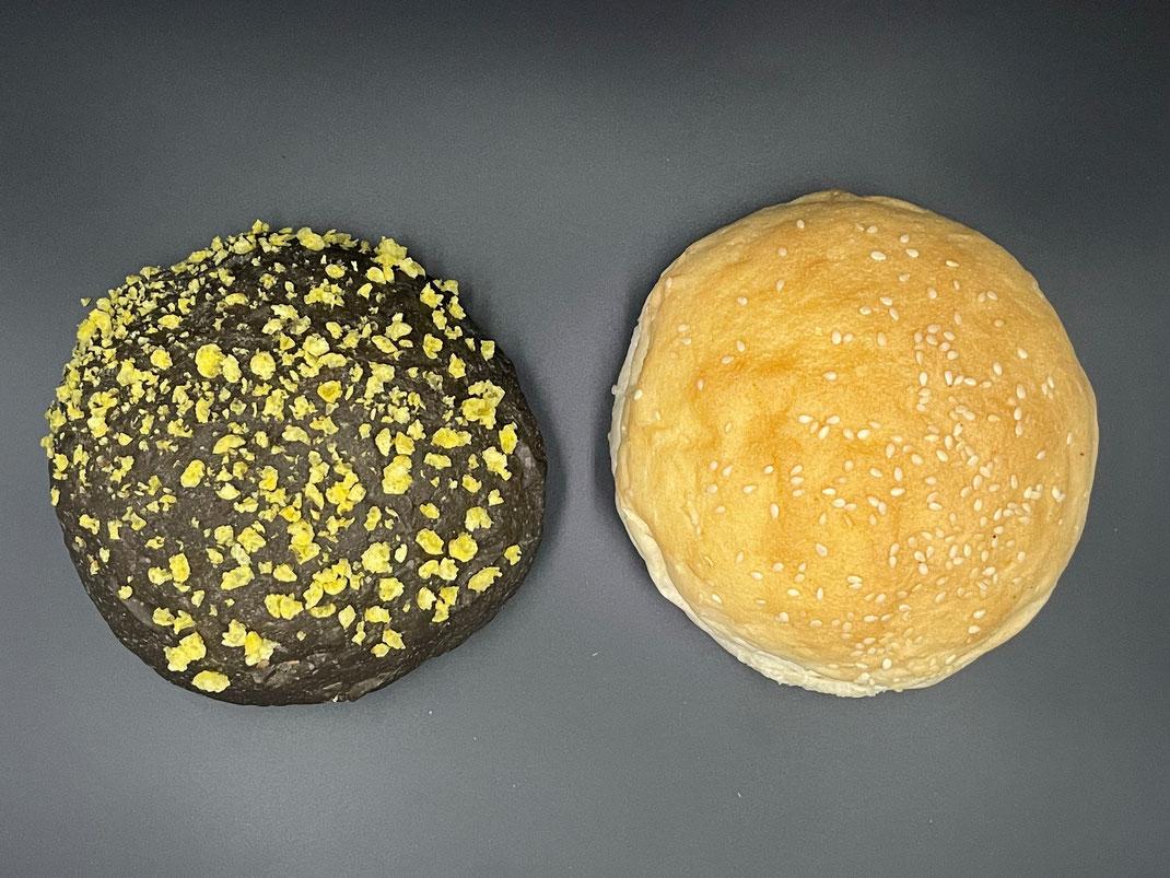 Burger Buns (groß ca. 100g, klein ca. 60g) Bitte beachten Sie die Mindestbestellmenge von 20 Buns je Sorte