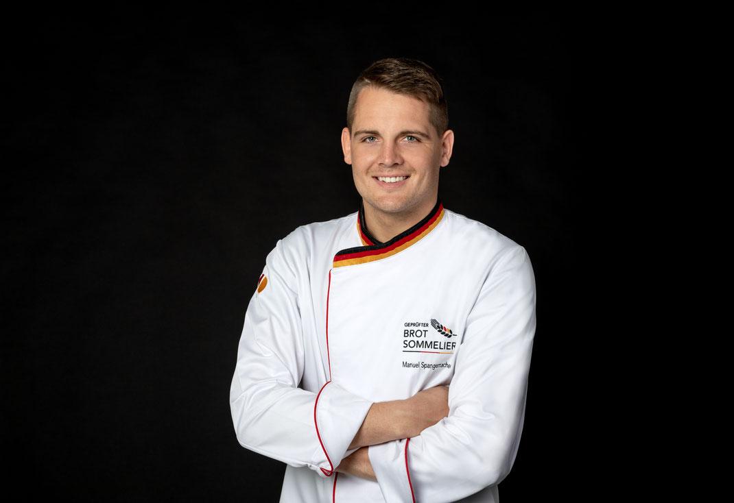 1. geprüfter Brot-Sommelier im Kreis Borken Manuel Spangemacher