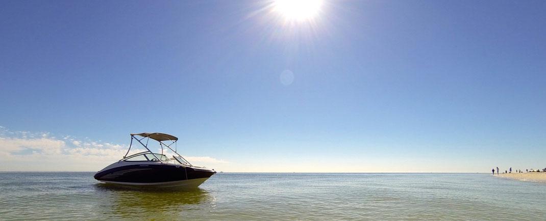 Sanibel Island mit dem Boot - Villa Coral Laguna