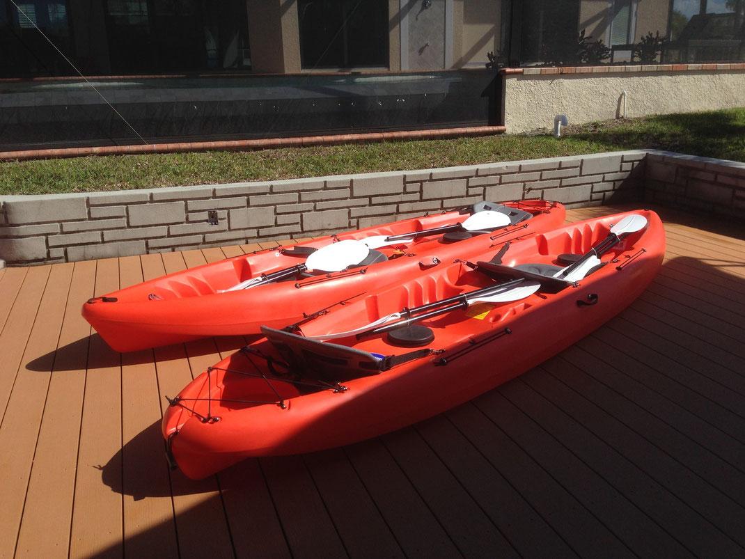 Kayaks Villa Coral Laguna