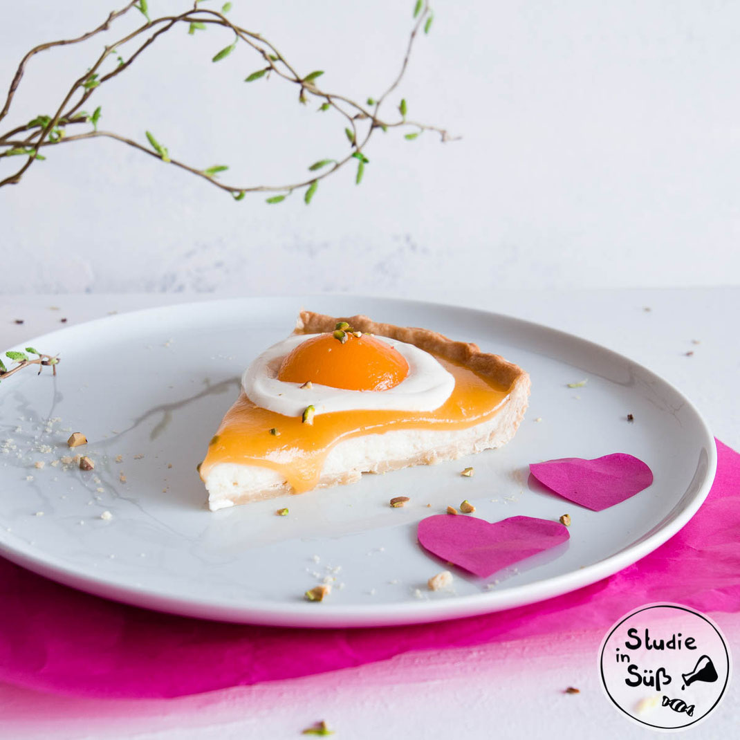 Passend zu Ostern: Rezept für Spiegelei Tarte/ Spiegeleikuchen