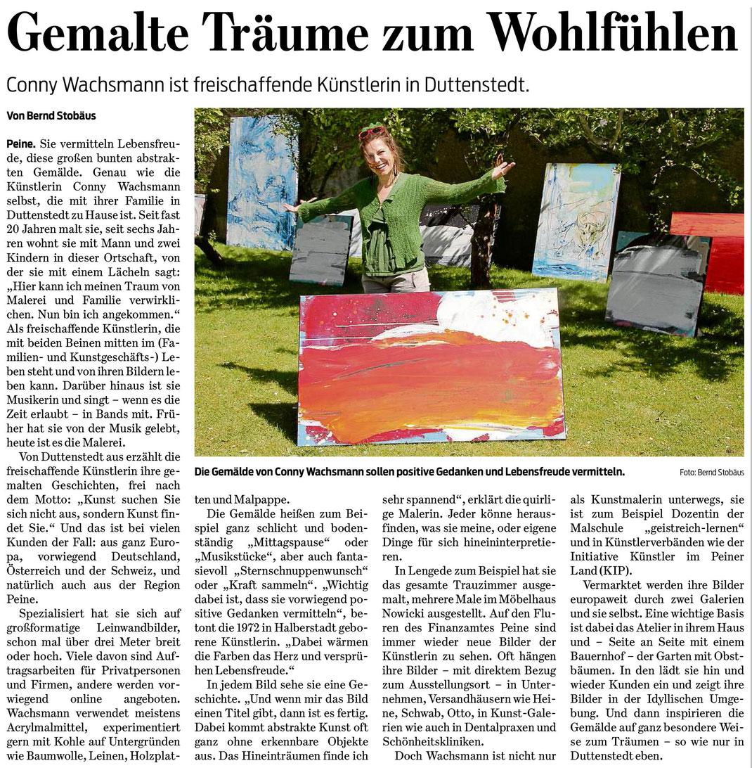 Artikel vom 23.05.2018 -  Braunschweiger Zeitung von Bernd Stobäus