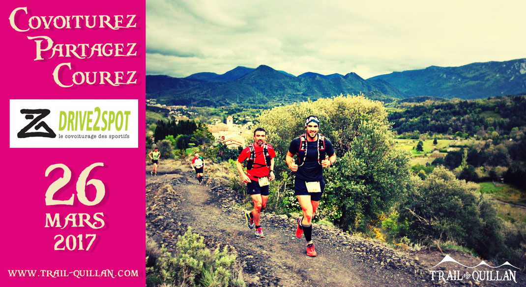 Trail Quillan - Covoiturage - Drive2spot