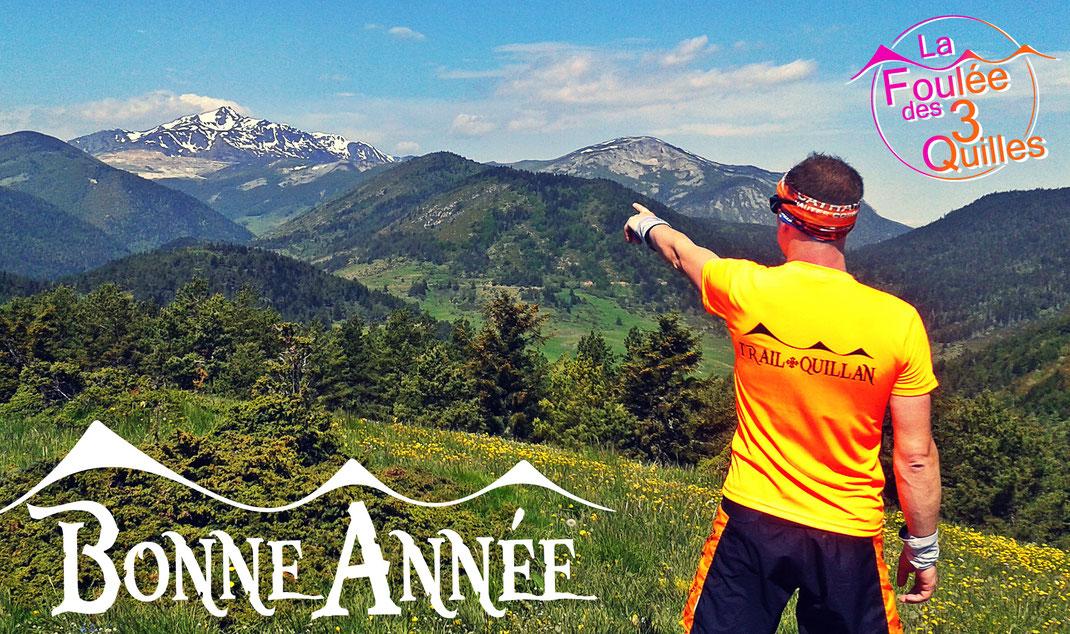 Trail Quillan - Bonne année 2018