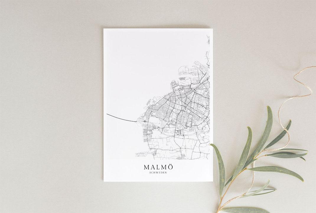 Poster und Wandbilder Malmö Schweden