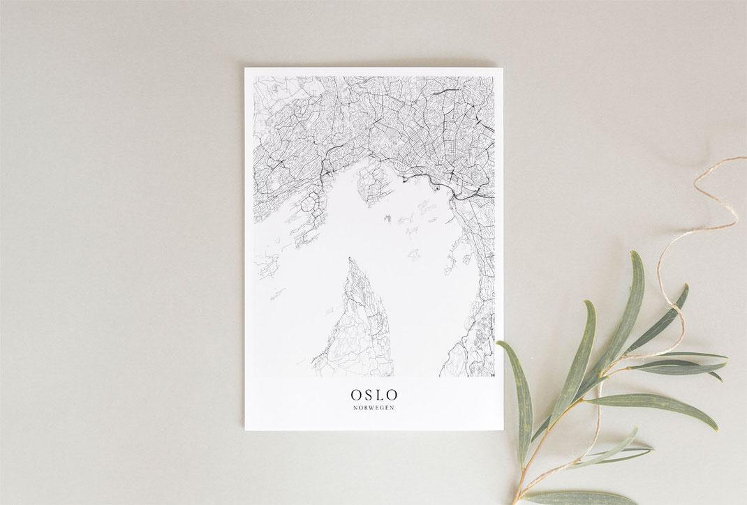 Poster als Geschenk im skandinavischen Stil