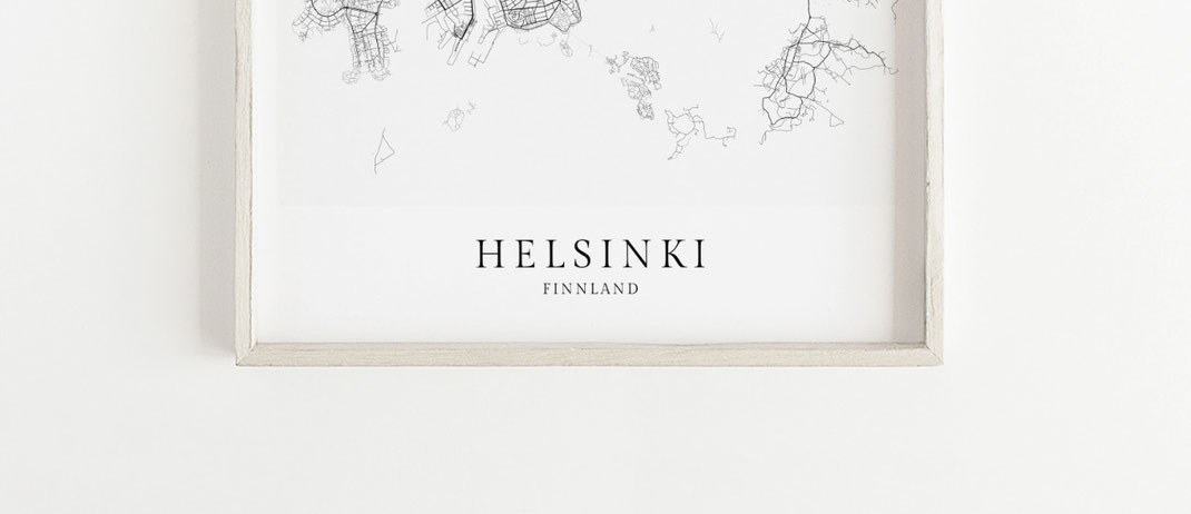 Poster Helsinki Finnland