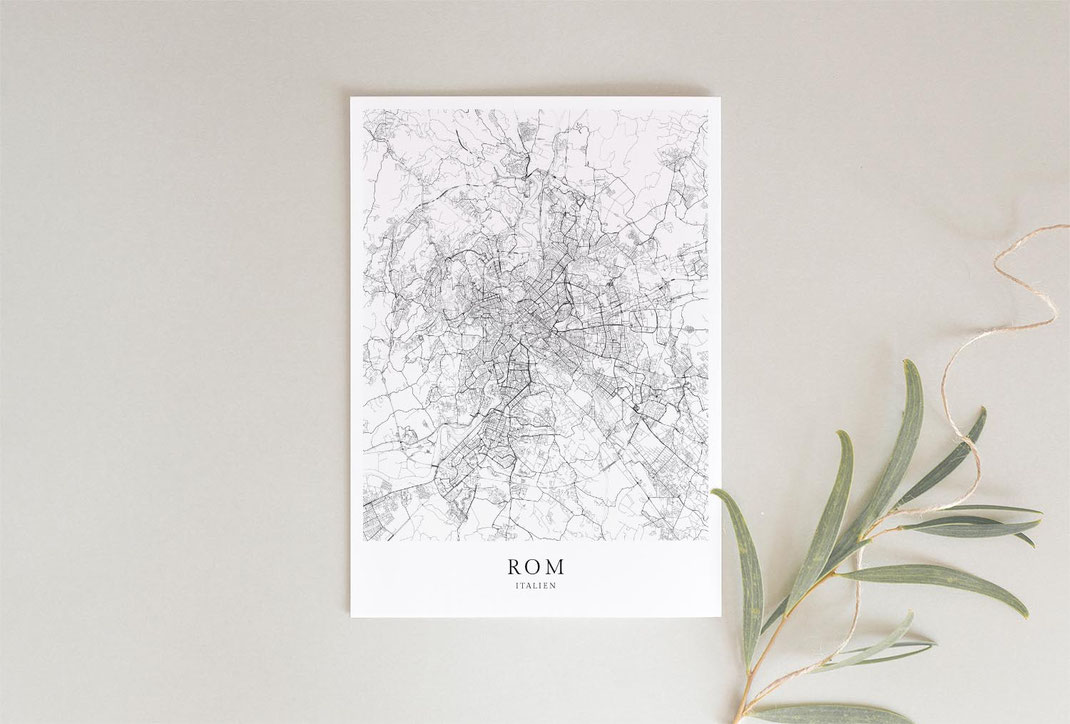 Rom Italien Posterdruck als Geschenkidee