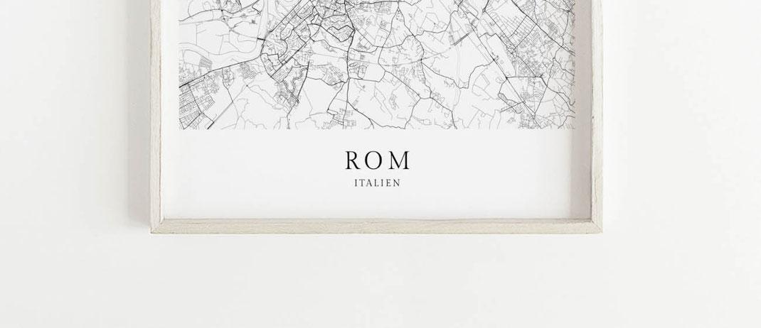 Poster Rom als Geschenk