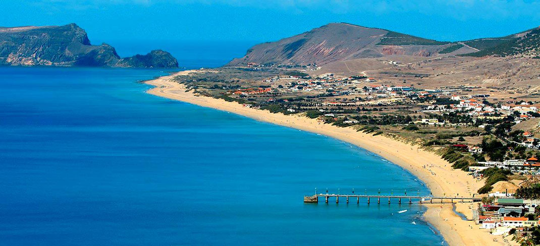 plage de Porto Santo