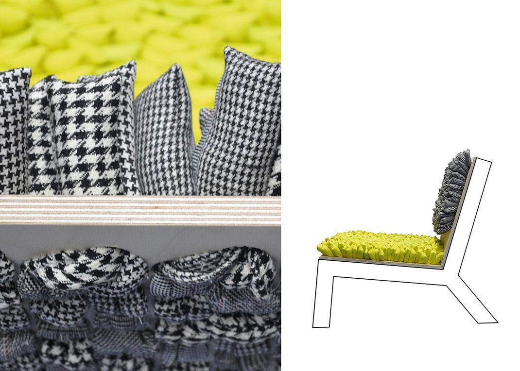 Prototypen und ihre Entstehung - Sessel Details