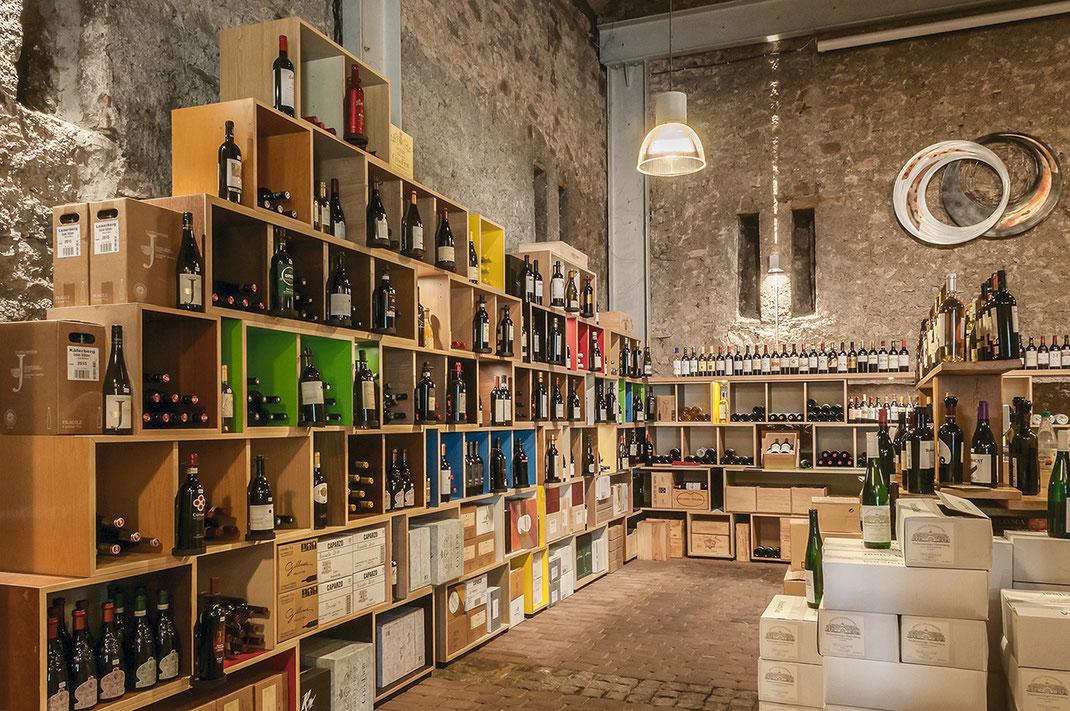 Weingalerie am Schloss - Entwurf Sven Stornebel