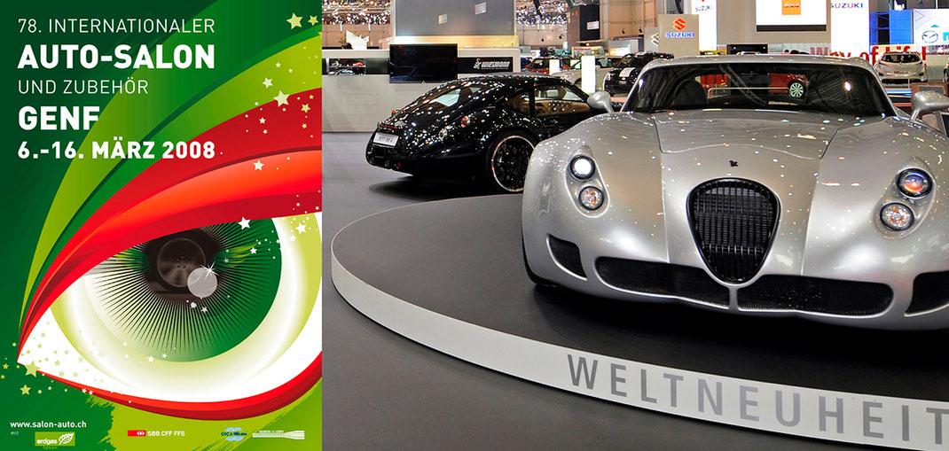 Messestand Auto-Salon Genf