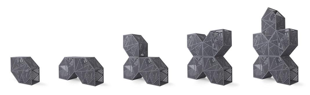 Das Hexagon - Ein Entwurf des KRONENKREUZ Designteams