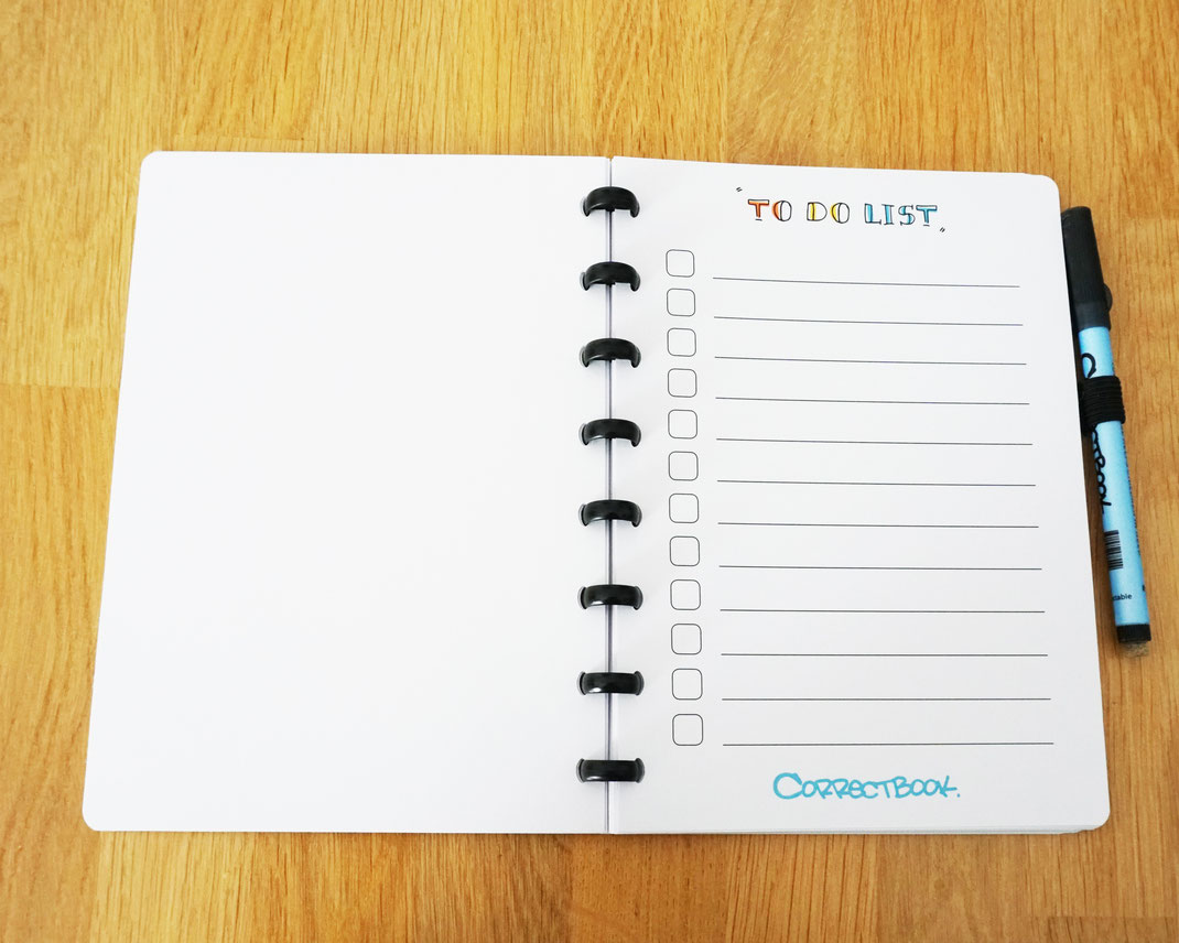 Correctbook-a5-to-do-list