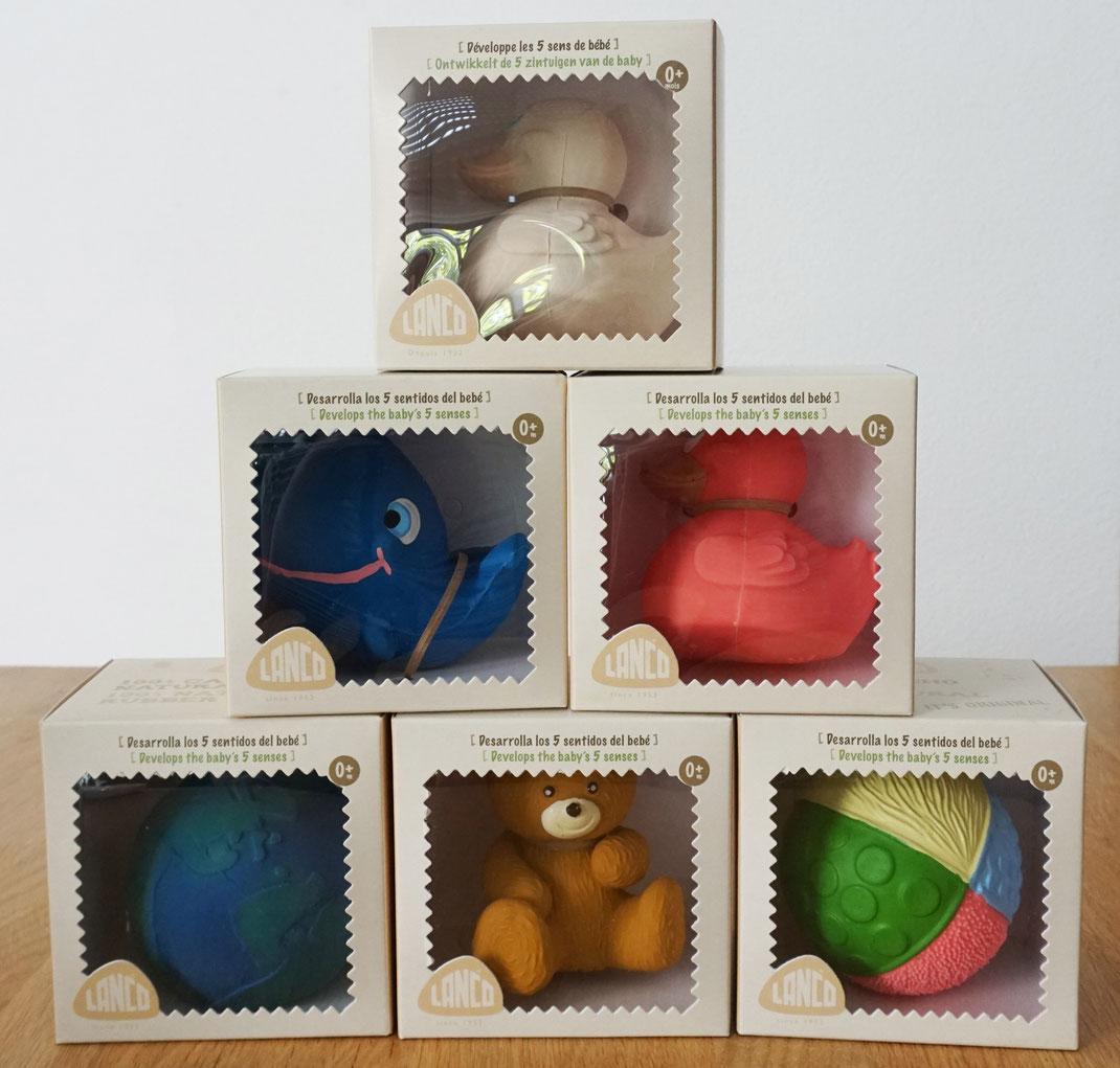 Lanco-speelgoed-badeend-walvis-bal-beer