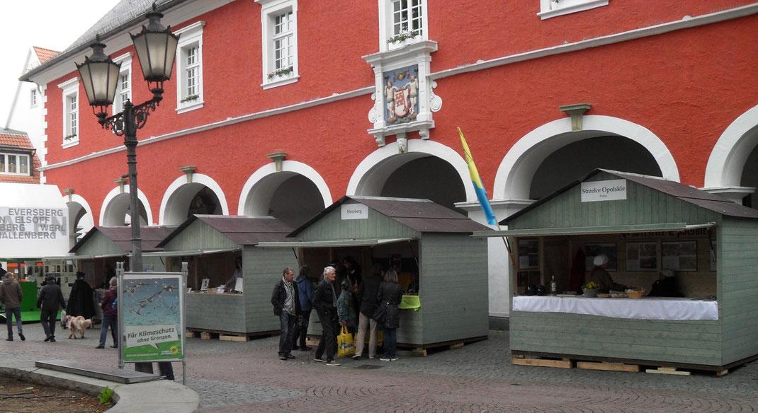 Markthütten 3.0 mit Soester Spezialfarbe
