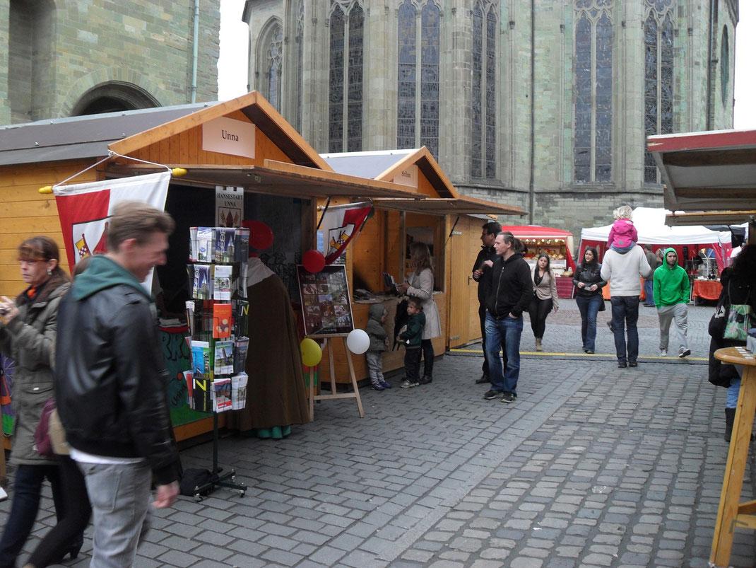 Hansemarkt Soest Infostände