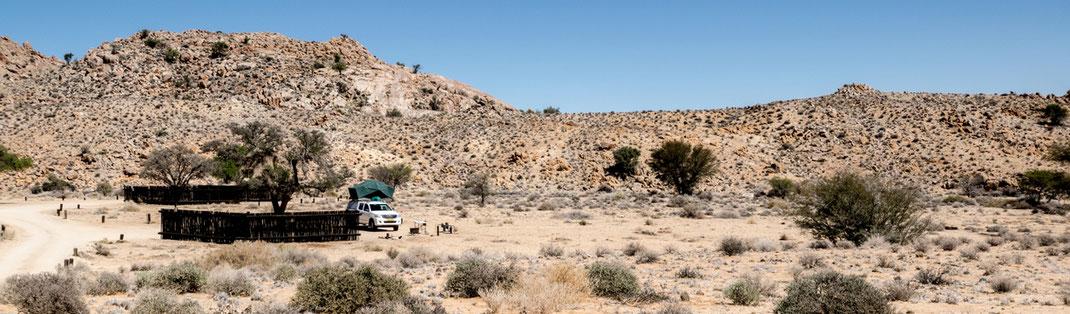 Campsite Klein Aus Vista Lodge // Namibia