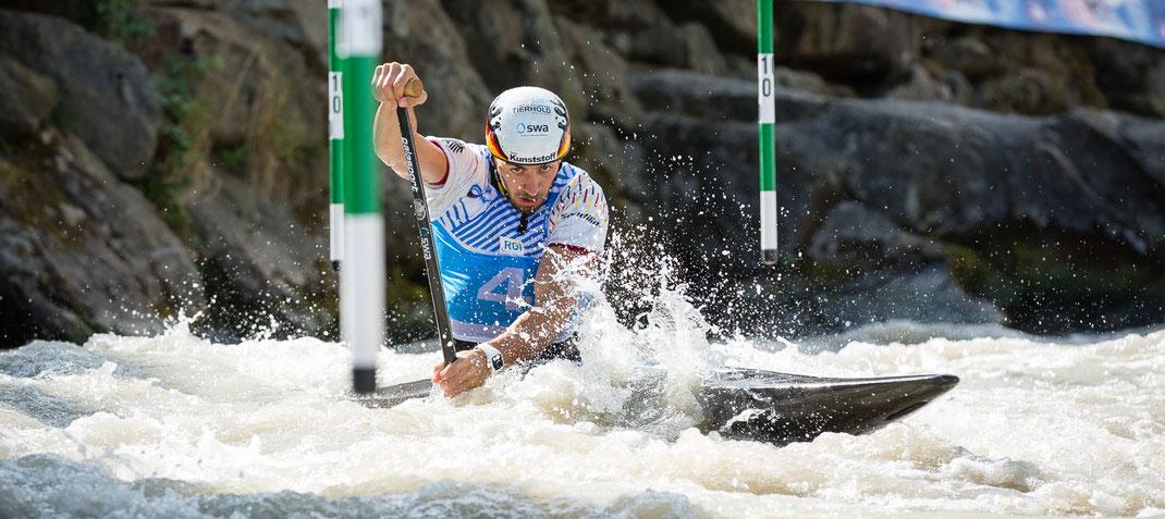 Kanu-Slalom World Cup in Ivrea