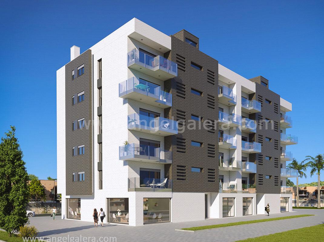 Render arquitectura. Murcia
