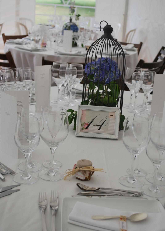 Numéros de tables - Hésione Design - Crédit photo : Hésione Design