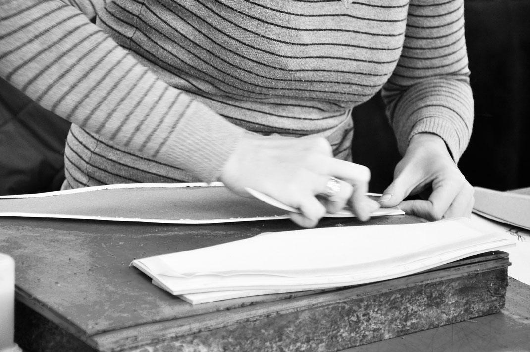 Ledermanufaktur für exklusive Ledertaschen, Handarbeit nach alter Handwerkskunst