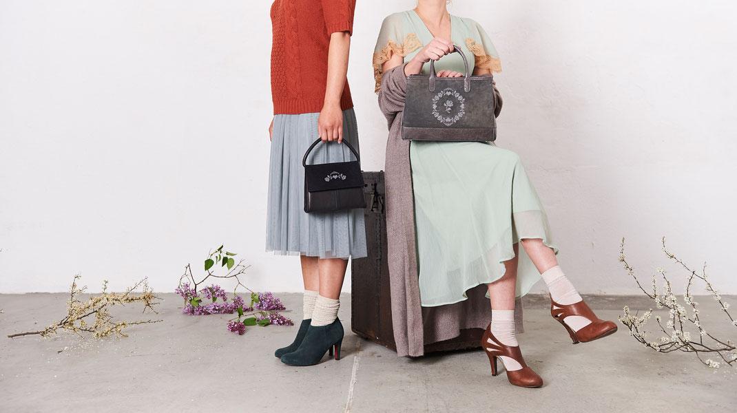 Lookbook 2017, OWA Tracht, Kollektion edle Ledertaschen Dirndltasche Vintagetasche Henkeltasche, im Online-Shop versandkostenfrei kaufen