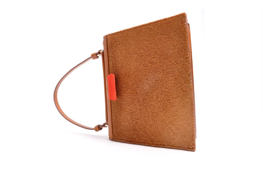 Nostalgische Tasche GRETA  Leder schwarz OSTWALD Traditional Craft