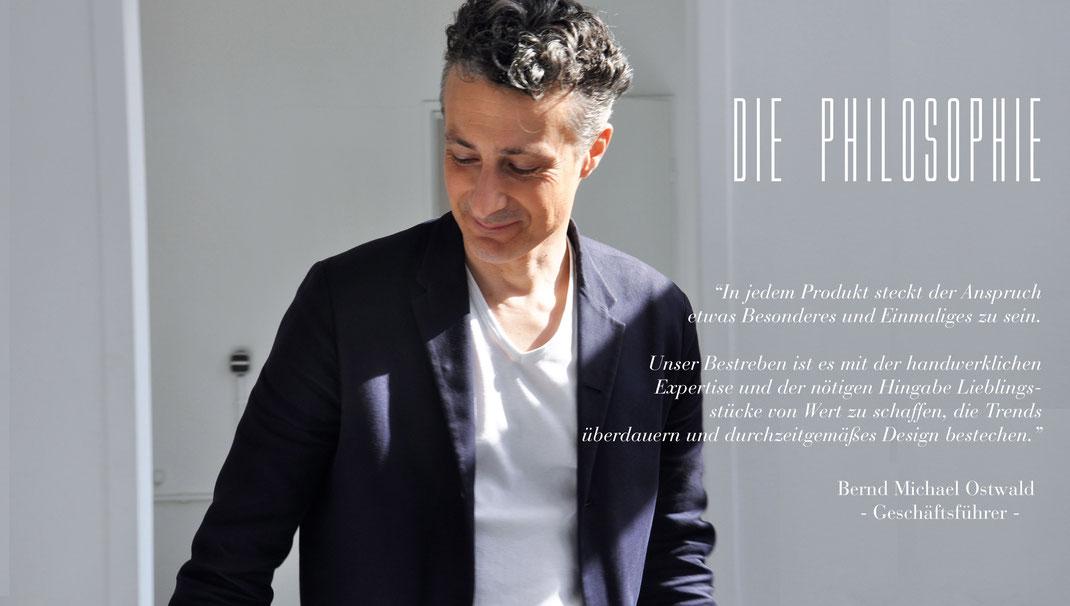 Bernd Michael Ostwald, Designer und Geschäftsführer, OWA Moden GmbH