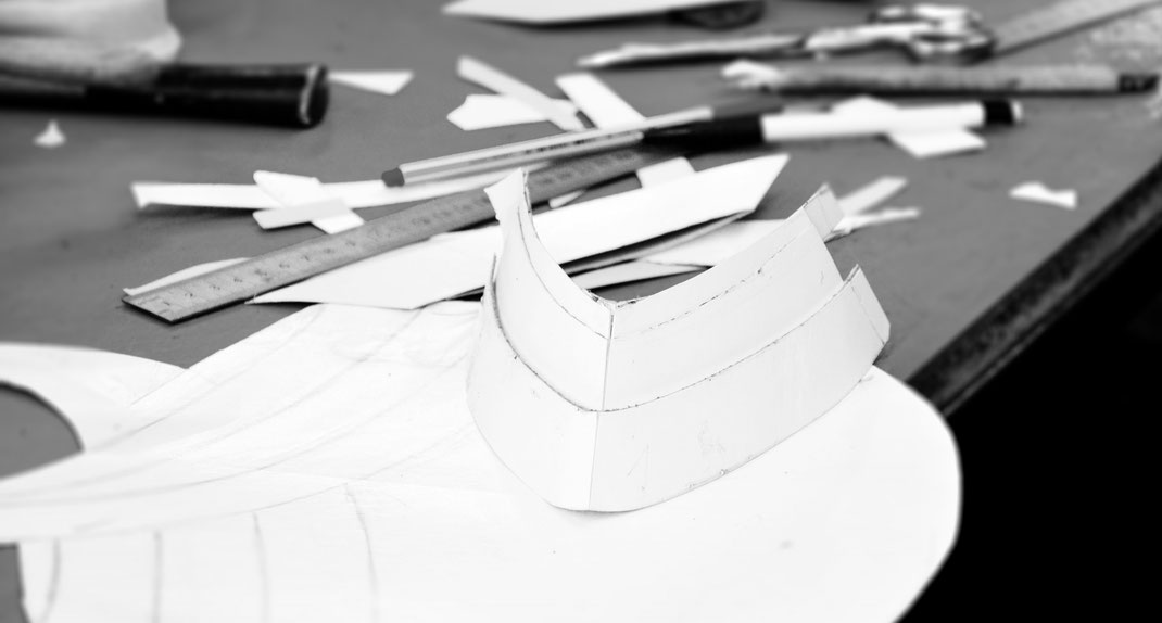 Manufaktur, alte Tradition,  Leder-Couture, Design, Produktentwicklung, Modellbau, OWA