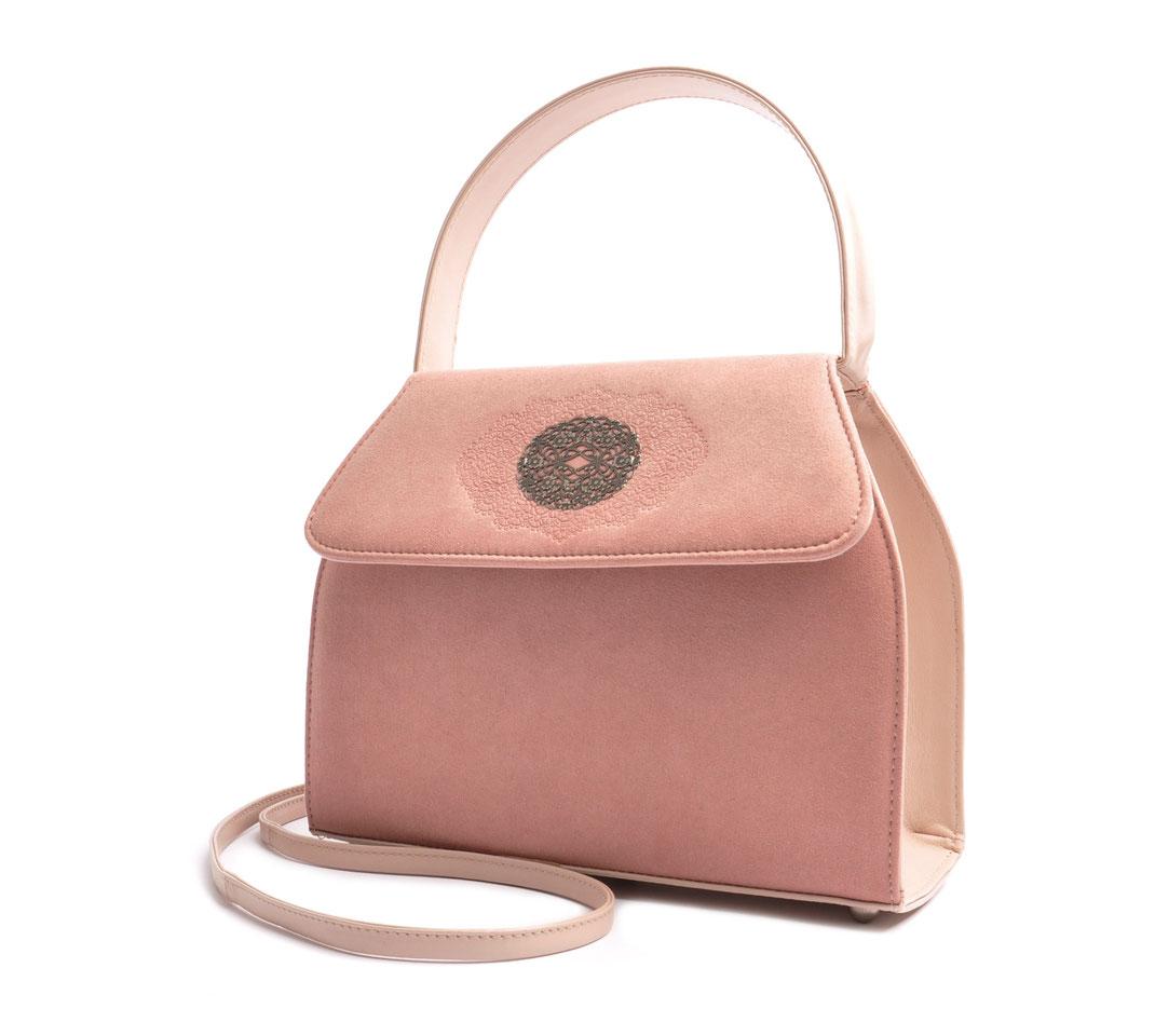 Trachtentasche EMMA rose  online versandkostenfrei kaufen OSTWALD Traditional Craft