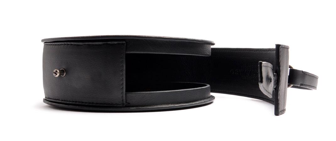 Dirndltasche GRETA schwarz Leder  OSTWALD Traditional