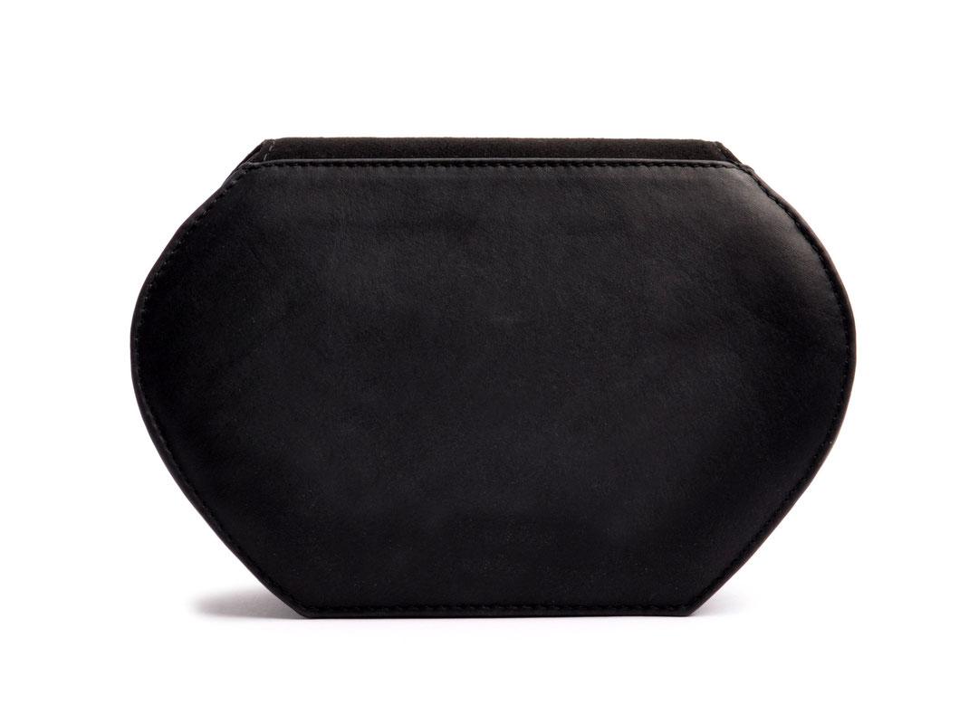 Dirndltasche ANNA schwarz Leder online versandkostenfrei kaufen OSTWALD Traditional Craft